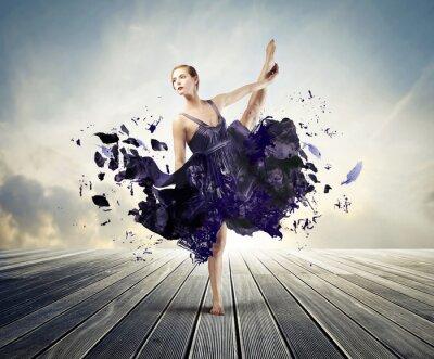 Canvas print Creative ballet