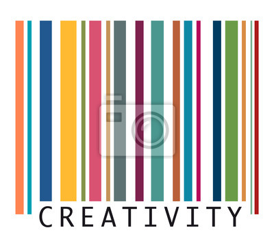 Canvas print Creativity