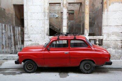 Canvas print Cuba, Havana, Oldtimer