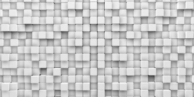 Canvas print Cubes background