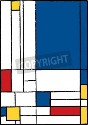 Canvas print Cubist painting