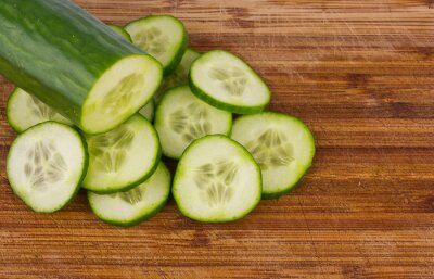 cucumber and slices