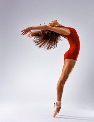 Canvas print dancer ballerina