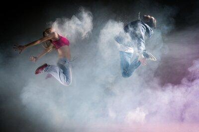 Canvas print Danse moderne