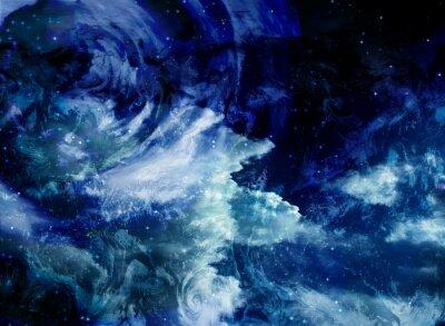 Canvas print Deep Space