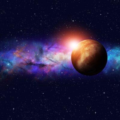 Canvas print Deep Space Starfield