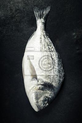 Canvas print Delicious fresh fish