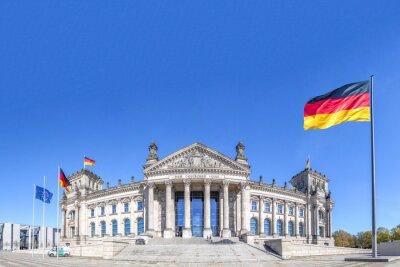 Canvas print Deutscher Reichstag Berlin
