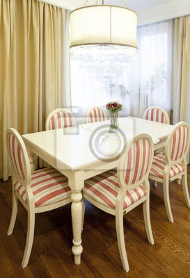 Canvas print dining room