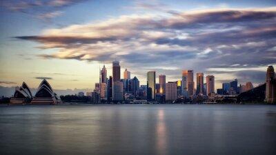 Canvas print Downtown Sydney at sunrise