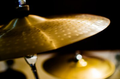 Canvas print Drums, Cymbal and Instruments