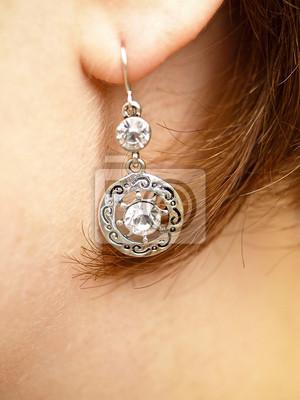 Canvas print Earrings
