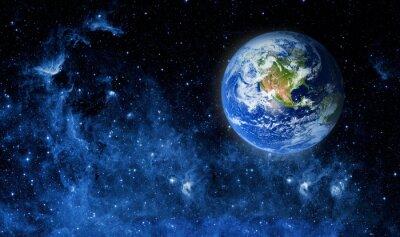 Canvas print earth