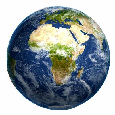 Canvas print Earth globe map