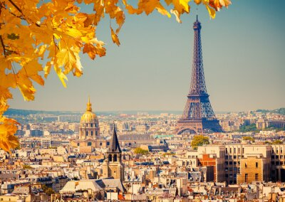 Canvas print Eiffel tower