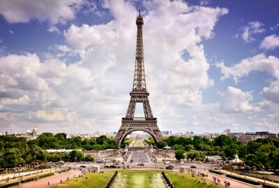 Canvas print Eiffel Tower, Paris