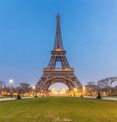 Canvas print Eiffel Tower Sunrise