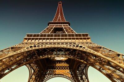 Canvas print Eiffelturm
