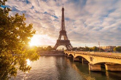 Canvas print Eiffelturm in Paris