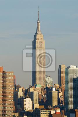 Empire State building closeup, Manhattan, New York City