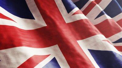 Canvas print English Flag