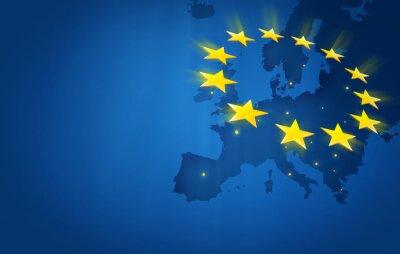 Canvas print Europe