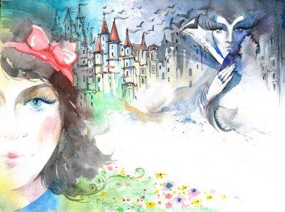 Canvas print fairytale