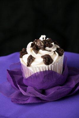 Canvas print Fancy Gourmet Cupcake