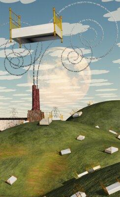 Canvas print Fantasy Landscape