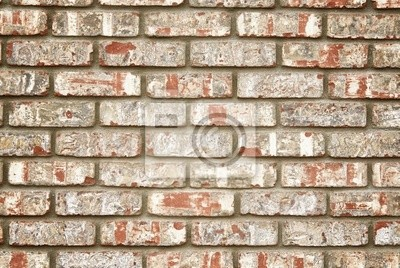 Canvas print Faux brick wall