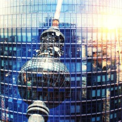 Canvas print Fernsehturm Berlin
