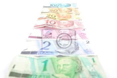 Canvas print Financial