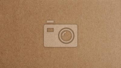 Canvas print Flat brown paper background closeup