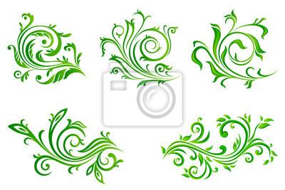 Canvas print floral