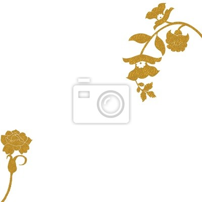 Canvas print FLORAL OR