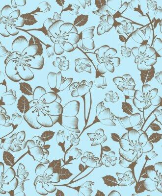 Canvas print Floral pattern