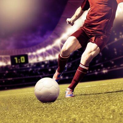 Canvas print football game