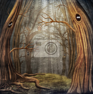 Canvas print Forest