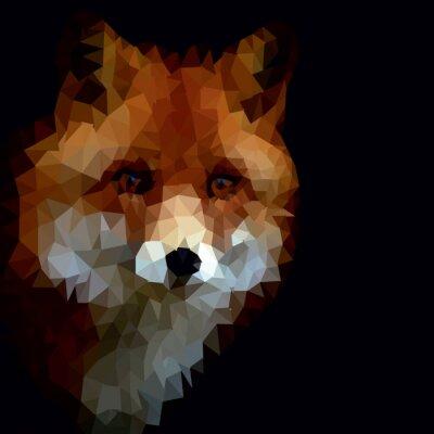 Canvas print Fox