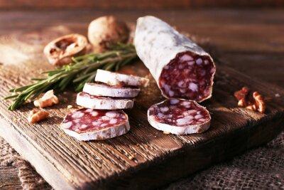 Canvas print French salami