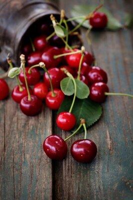 Canvas print Fresh cherries
