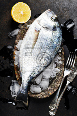 Canvas print Fresh fish