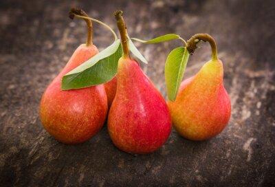 Canvas print Fresh organic pears