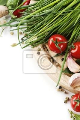 Canvas print Fresh Vegetables