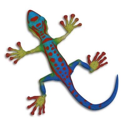 Canvas print Gecko lizard