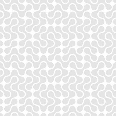 Canvas print Geometric seamless pattern. Vector illustration