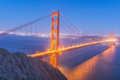 Canvas print Golden Gate