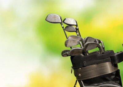 Canvas print Golf.