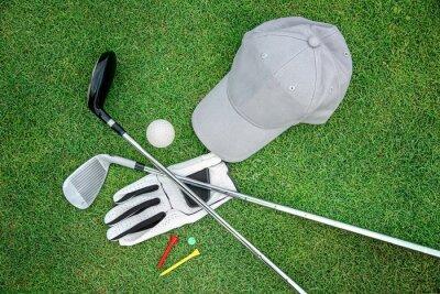 Canvas print Golf bacground