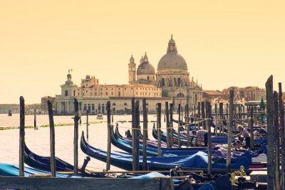 Canvas print Gondolas, Venice